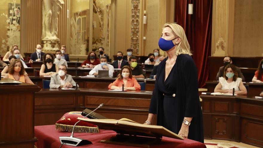 Isabel Borrás y Antonio Jesús Sanz entran en el Parlament tras las salidas de Biel Company y Sílvia Tur