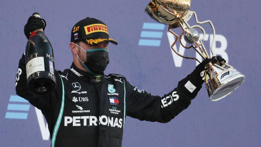 Bottas s'emporta la victòria al GP de Rússia per davant de Verstappen i Hamilton