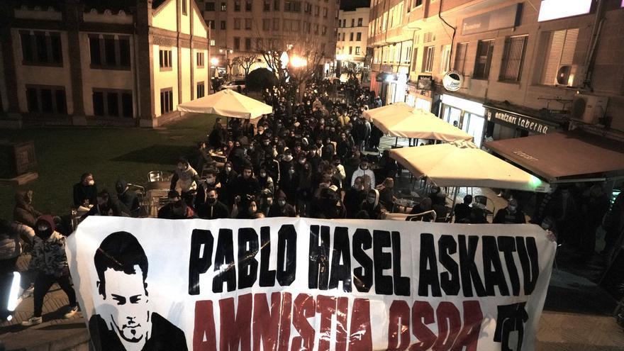Unidas Podemos registra ante Justicia la petición de indulto urgente para Hasél