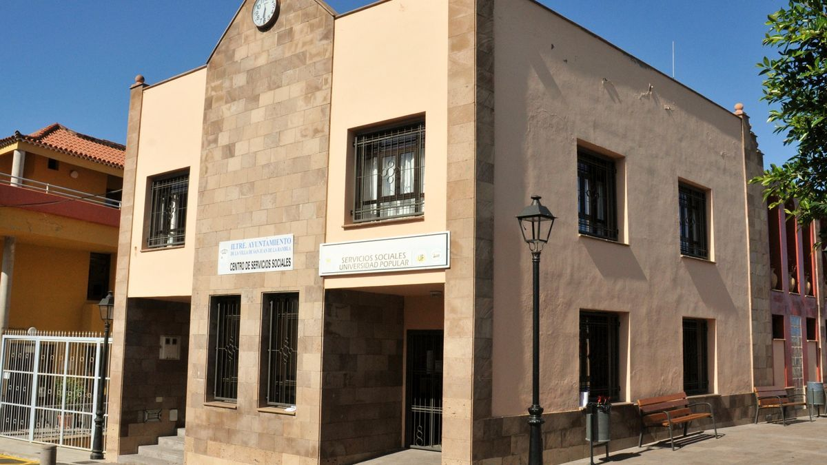 El edificio de Servicios Sociales en San Juan de la Rambla