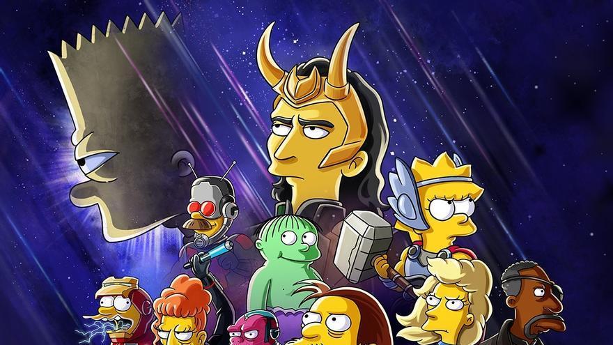 Disney+ anuncia un nuevo corto de Los Simpson inspirado en Marvel