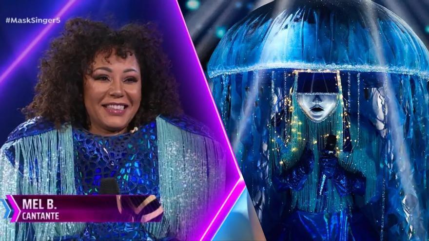Mel B, de las Spice Girls, era Medusa, y Josep Pedrerol era Rana en 'Mask Singer 2'