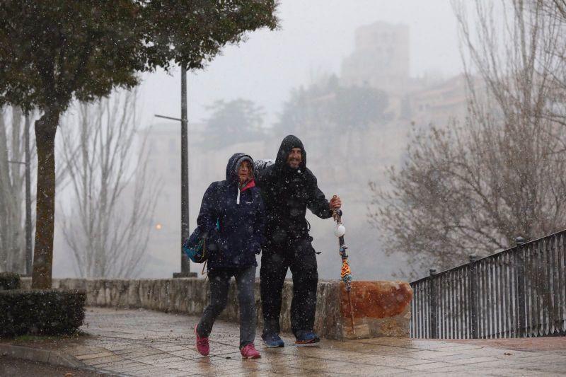 Nieve en Zamora