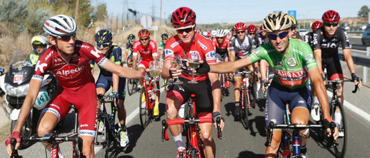 """Froome y la Vuelta, un idilio que, """"¡por fin!"""", acaba bien"""
