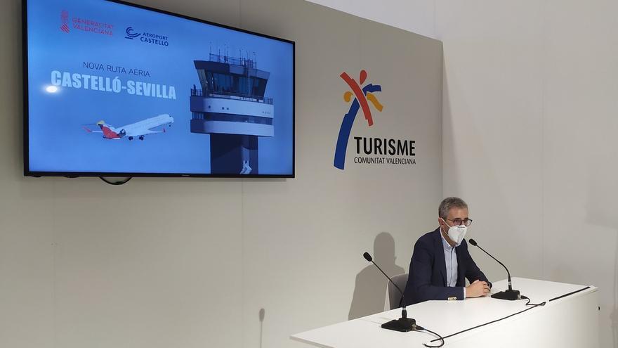 El aeropuerto de Castellón abre una nueva ruta con una capital española
