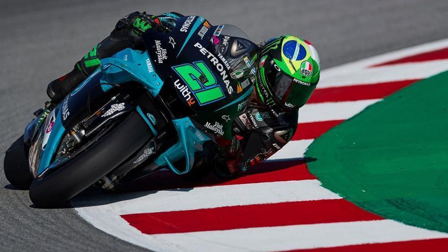 Morbidelli aconsegueix la «pole» per davant de Rossi i Quartararo