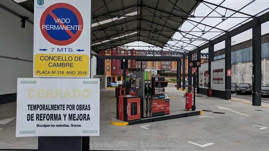 Augas abrió expediente sancionador a la gasolinera de O Temple por obrar sin su autorización