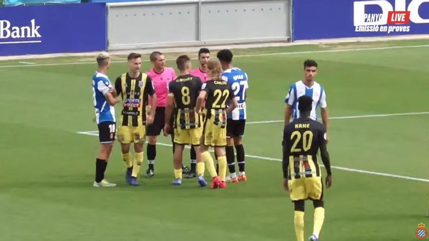El Andratx empata en su visita al líder Espanyol B
