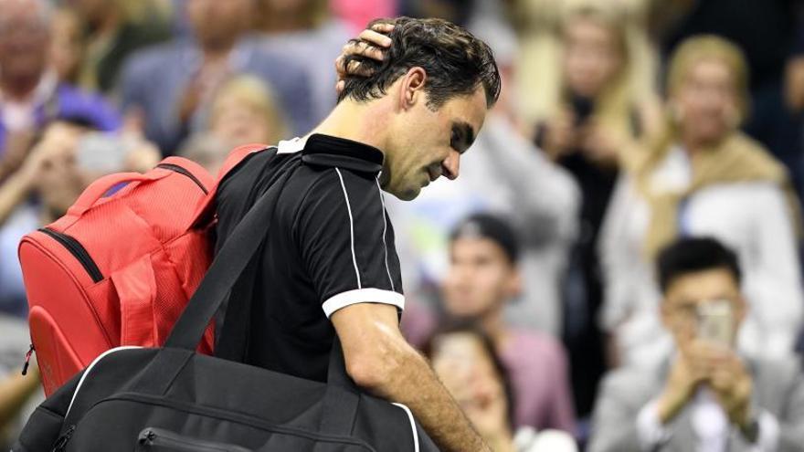 Federer cae eliminado en semifinales ante Dimitrov