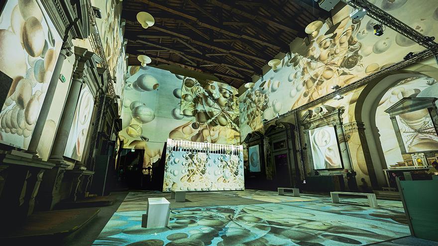 Florència inaugura una exposició digital immersiva sobre Salvador Dalí