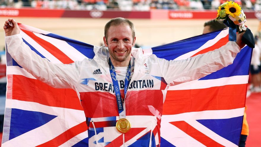 El británico Kenny hace historia con su séptimo oro en ciclismo en pista