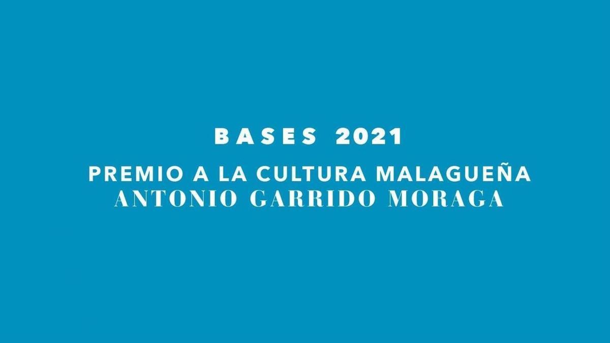 La Diputación de Málaga abre una nueva edición de los premios culturales Evaristo Guerra y Antonio Garrido Moraga