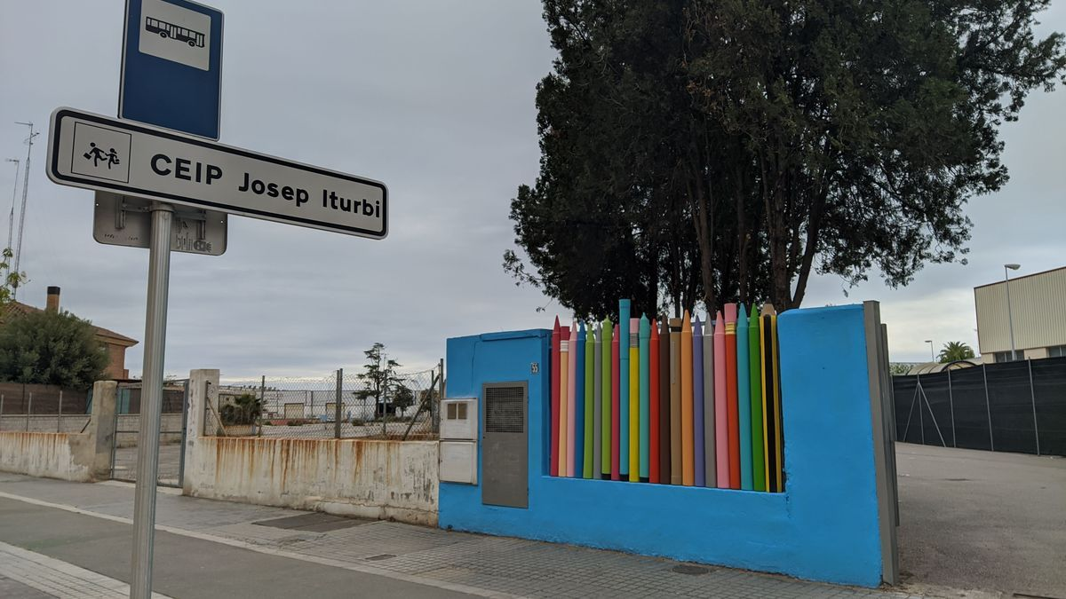 La entrada definitiva al colegio Iturbi prevén finalizarla en 2022.