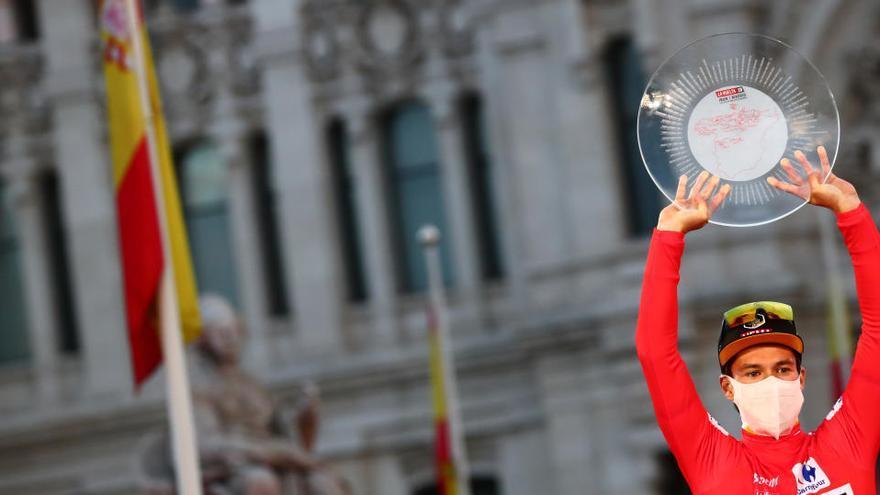 """Roglic, tras su victoria: """"Ha sido mi mejor Vuelta"""""""
