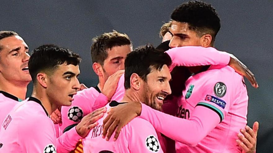El Barça perdona la golejada a la Juventus, a Torí