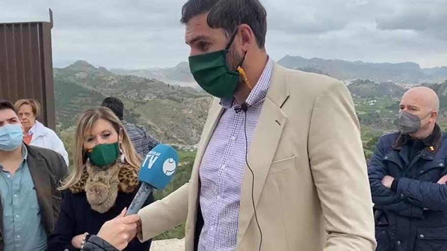 """Vox facilitará a López Miras modificar el Estatuto del Presidente si convoca elecciones """"inmediatamente"""""""
