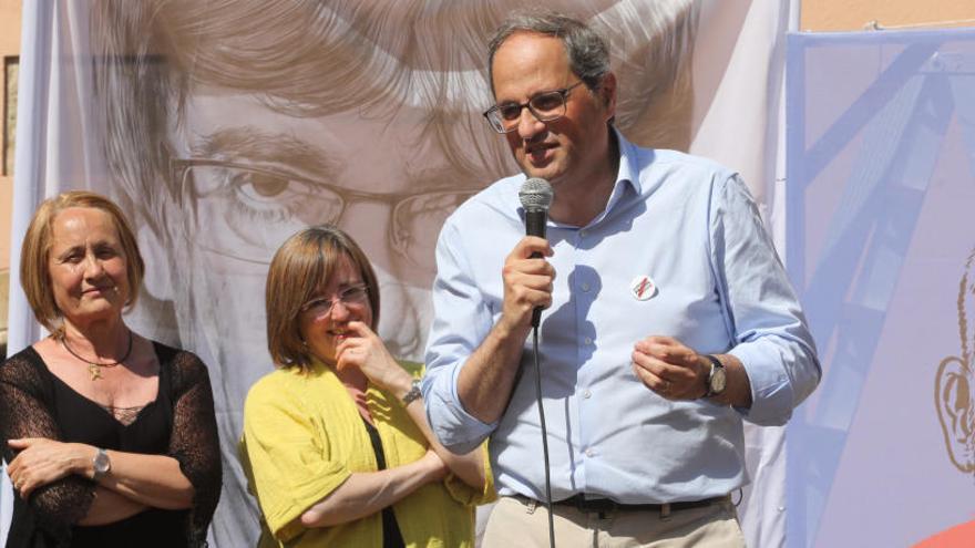 Torra: «Hem guanyat moltes alcaldies independentistes, però hi ha pactes que són inacceptables»