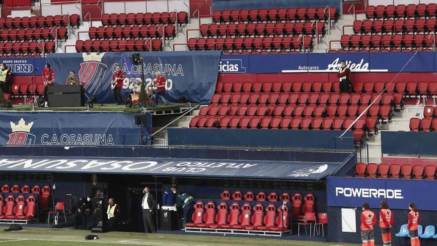 Sanidad prohíbe el público en partidos internacionales de fútbol y baloncesto