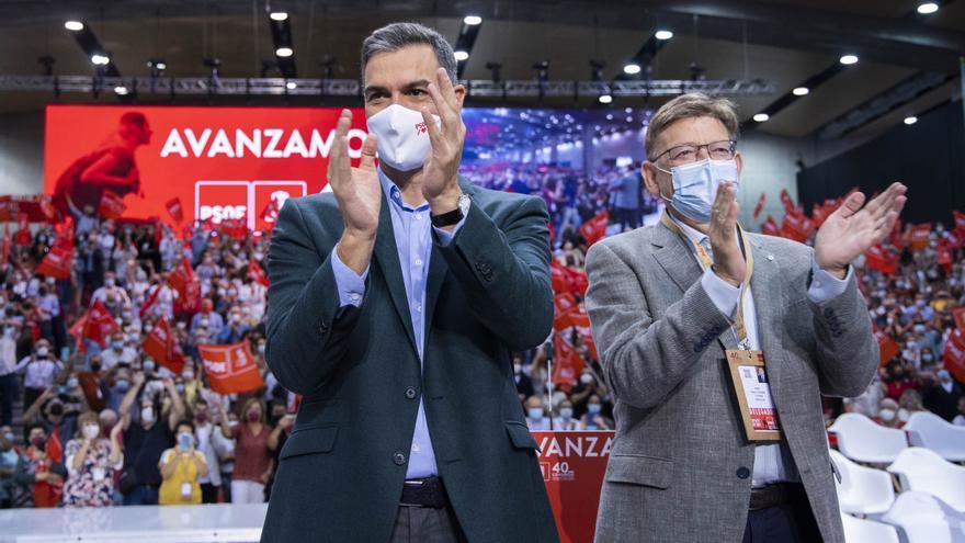 """La oposición critica que el congreso del PSOE """"pase por alto"""" la financiación y Puig alude a su """"dificultad"""""""