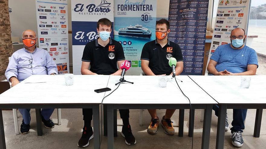 El HC Eivissa se muestra «contento» de su estrecha relación con la UD Ibiza