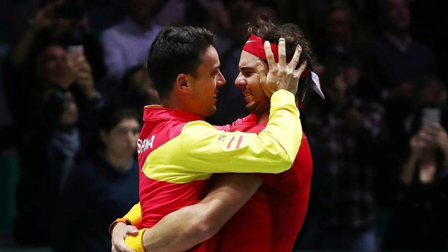 España defenderá su título de la Copa Davis sin Rafa Nadal