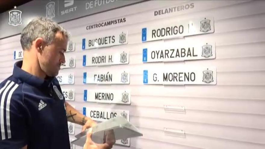 Campaña, gran novedad de la lista de la selección española