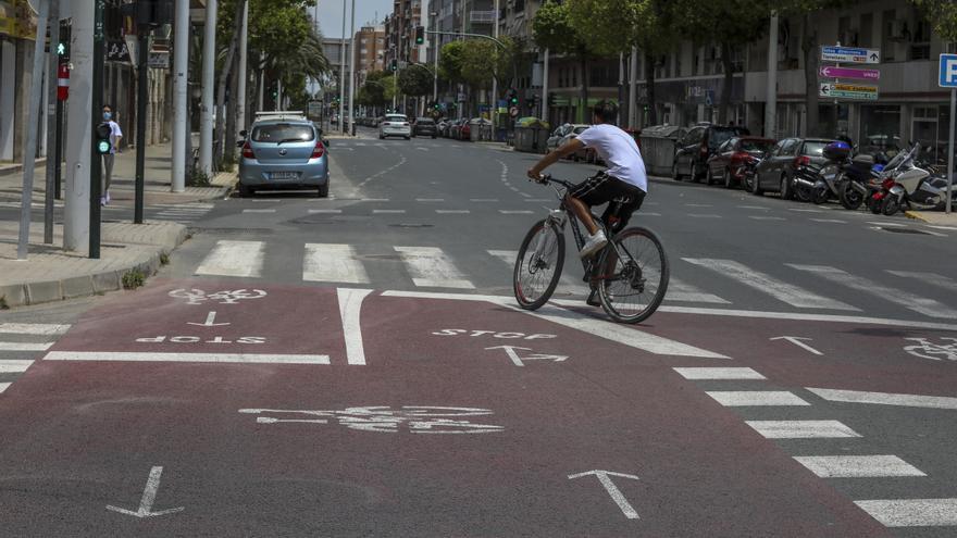 Un plan de movilidad para Alicante y el Rácano con Elx