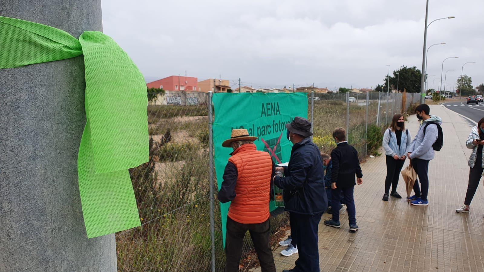 Nueva acción reivindicativa de la plataforma Pulmó Verd