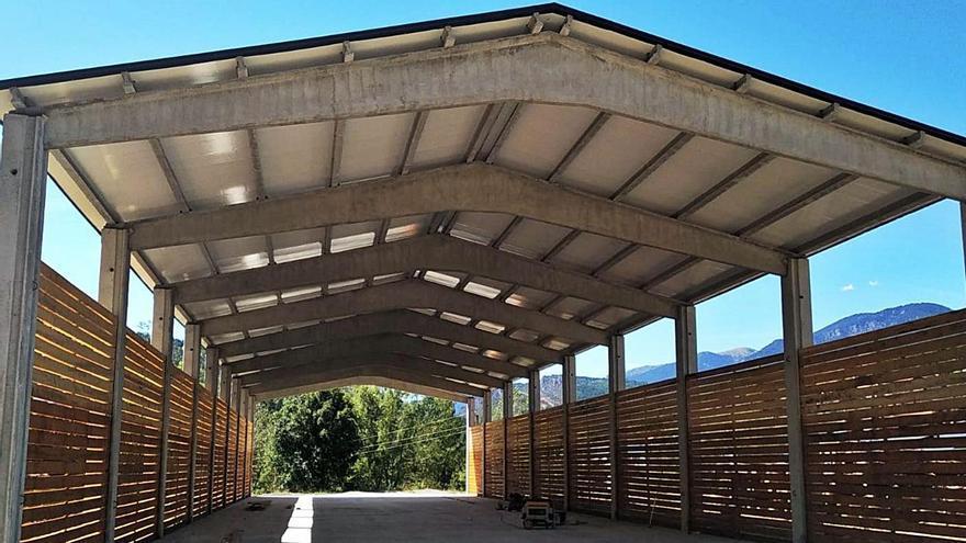 Coll de Nargó acollirà un centre per fer biomassa a l'Alt Urgell