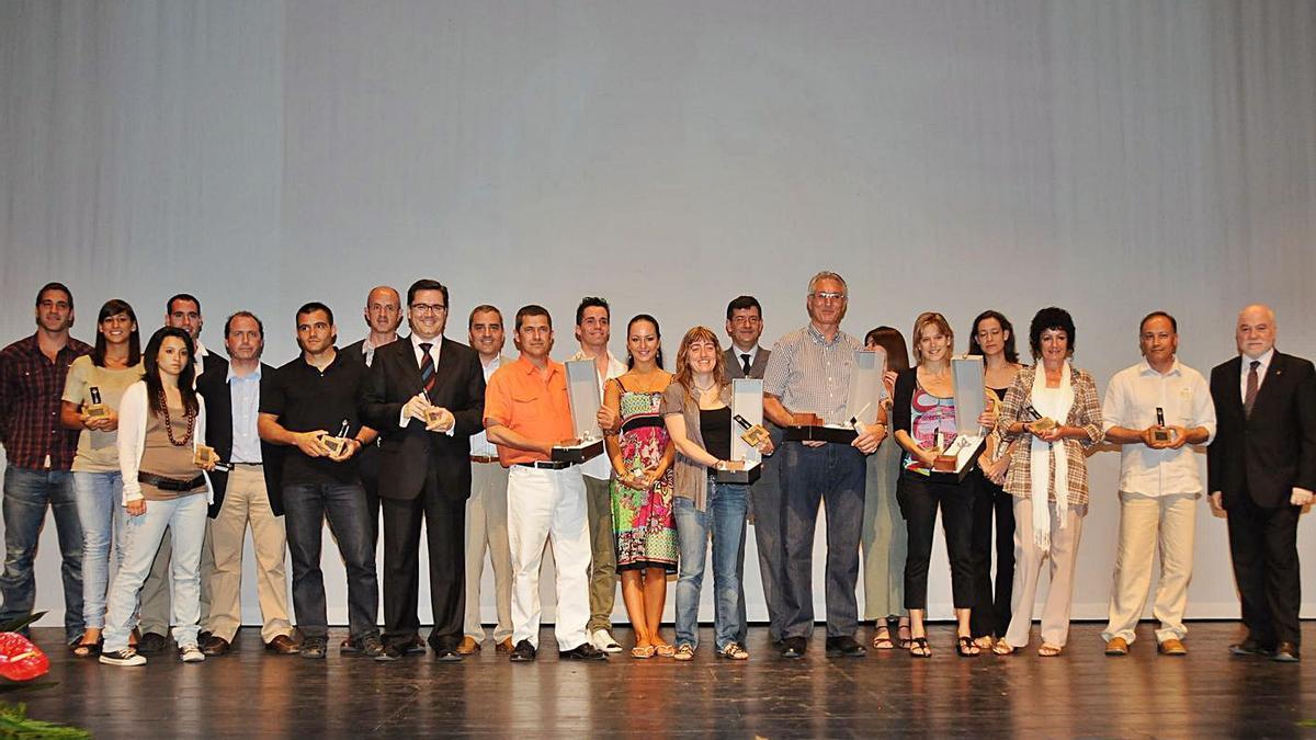 Premiats en la 40a edició de la Nit de l'Esportista | ARXIU/SALVADOR REDÓ