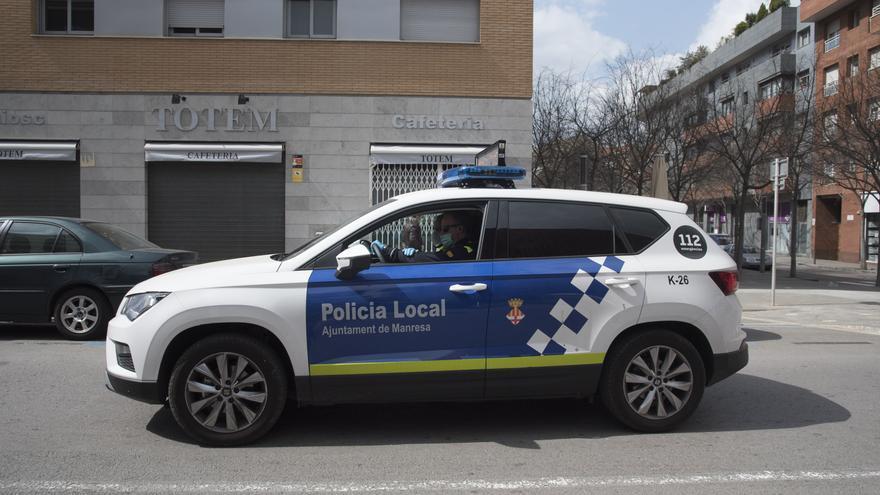 Detingut un jove a Manresa amb un mòbil robat