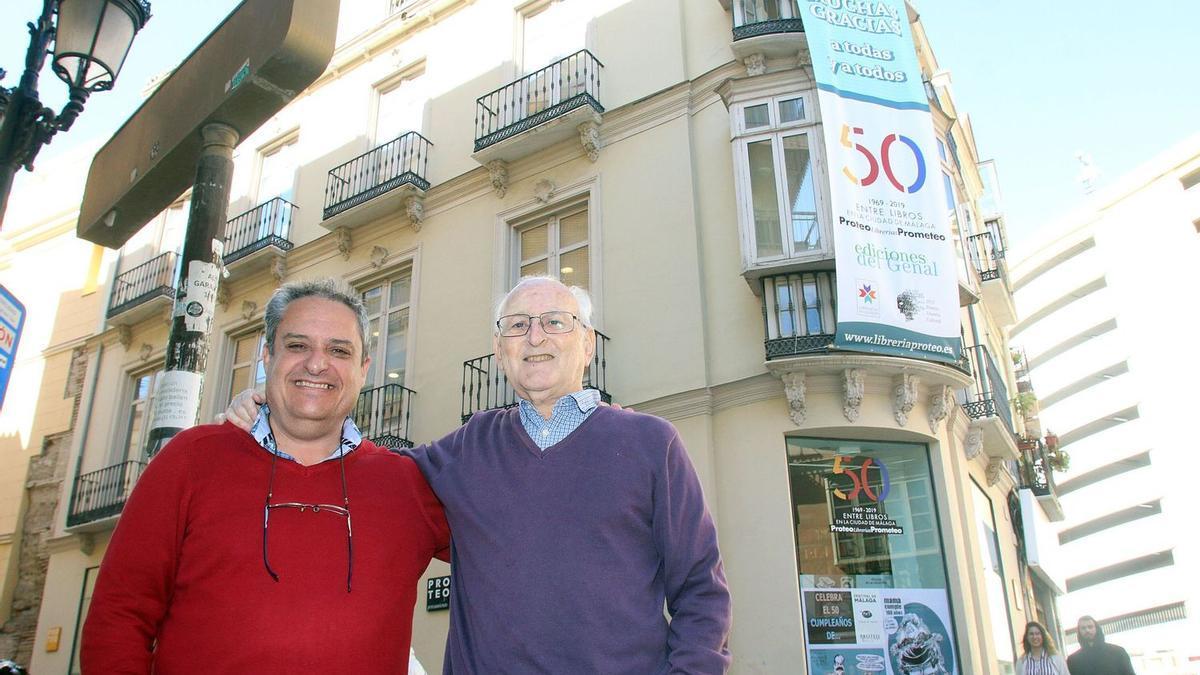 Jesús Otaola y Paco Puche, en una imagen reciente