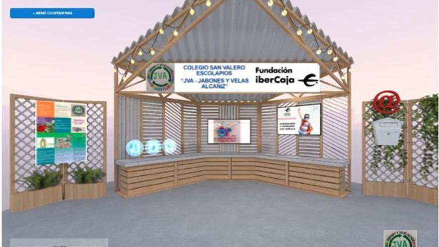 Más de 2.000 escolares venden los productos de sus cooperativas en el mercado virtual del programa 'Aprendiendo a emprender con Ibercaja'