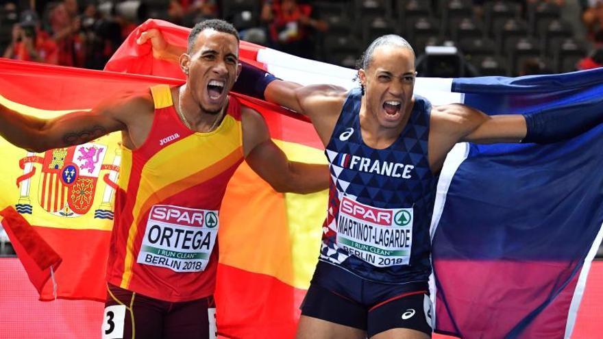 Orlando Ortega, bronce en 110 metros vallas