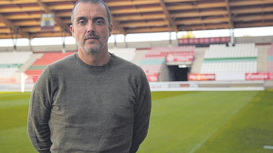"""César Villafañe,  director deportivo del Zamora CF: """"Lo que nos va a hacer tener un objetivo u otro es el trabajo"""""""