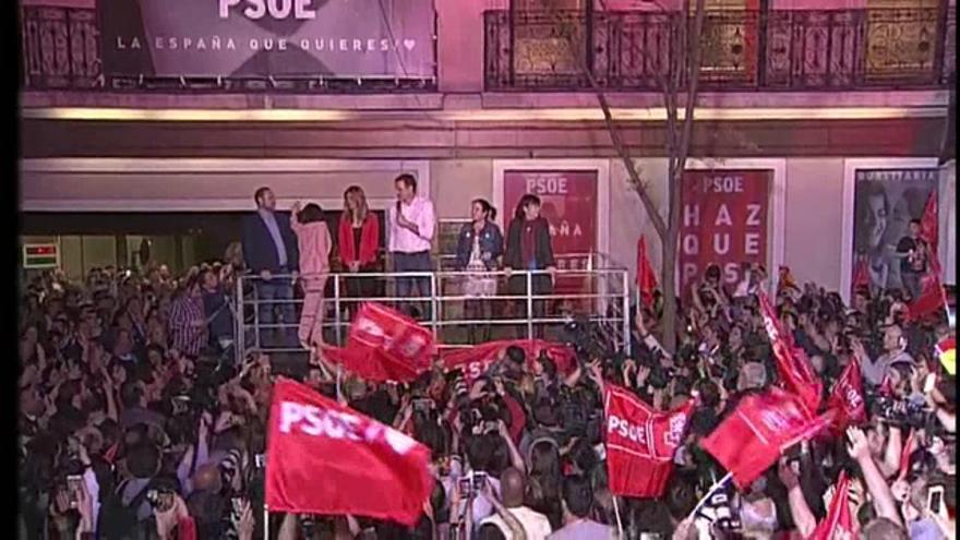 El PSOE gana las elecciones pero necesitará pactar para gobernar
