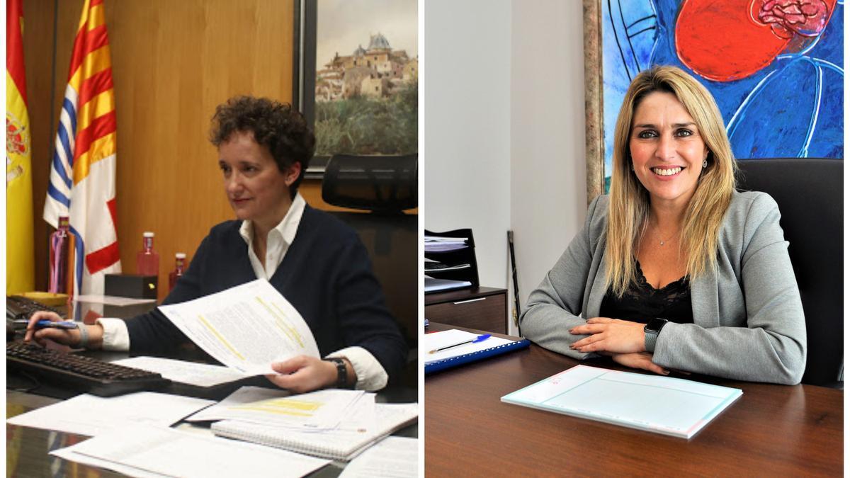 Carmina Ballester y Marta Barrachina