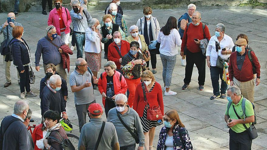 El bum turístico tras la pandemia trajo este verano 130.000 viajeros a Ourense