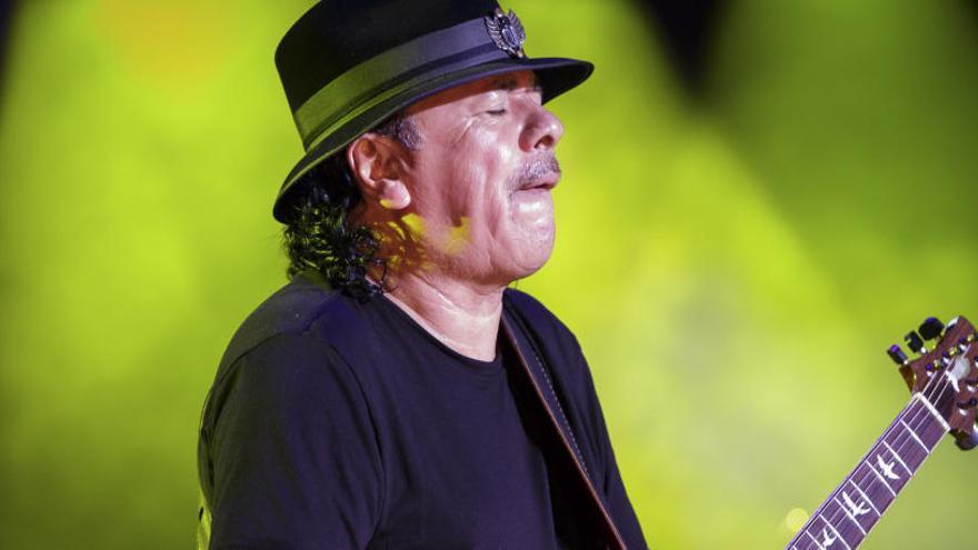 Carlos Santana, 70 años de punteo místico y latino