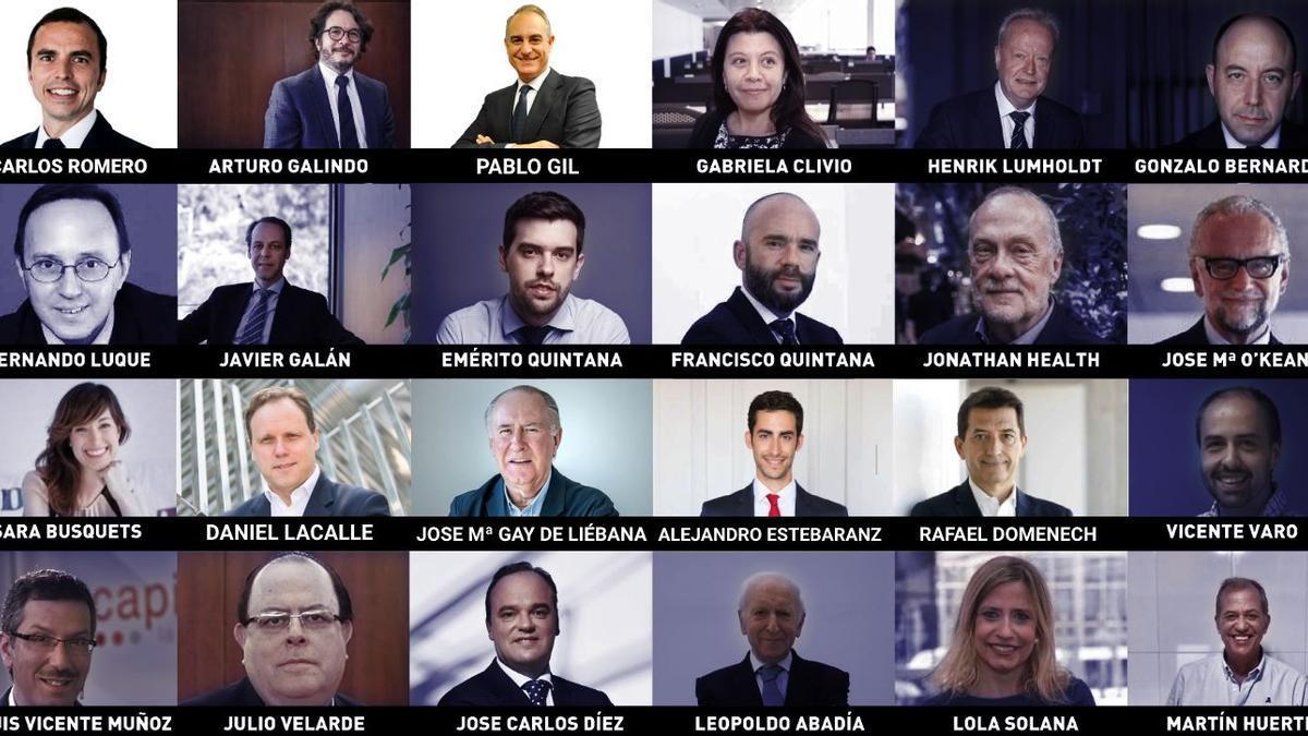 Ponentes del Investors Day 2021