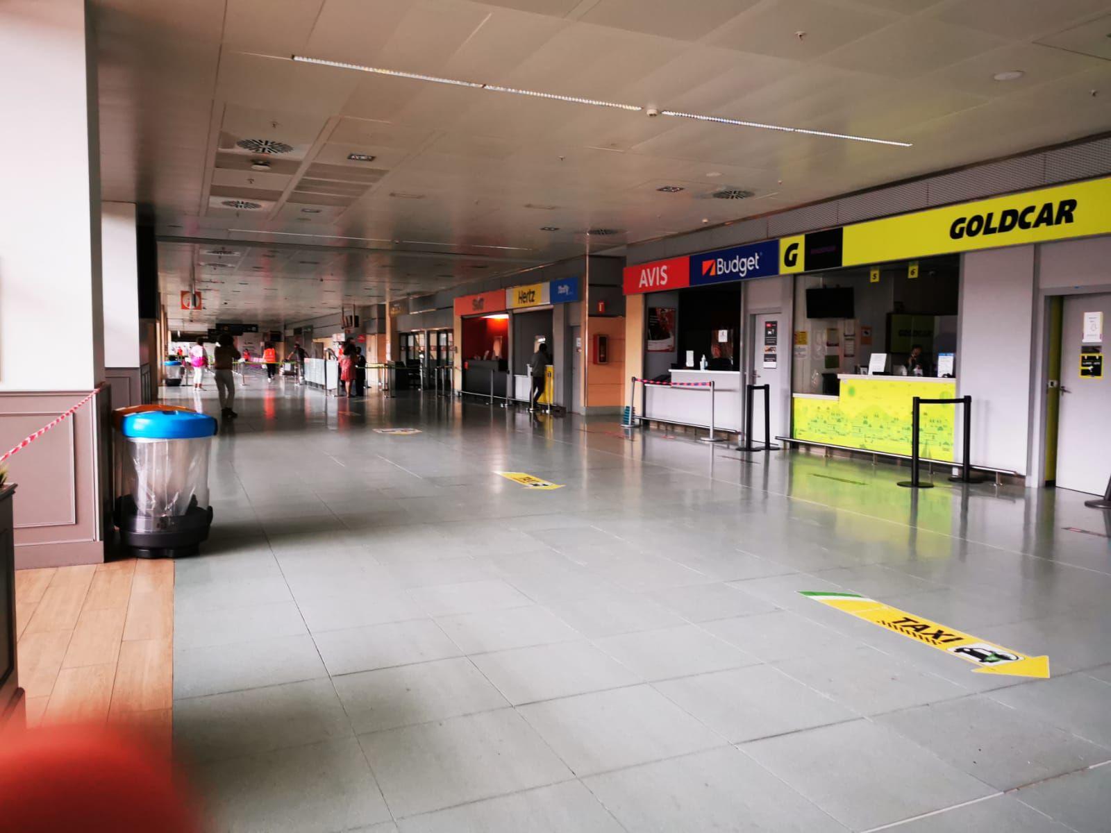 Incendio en el aeropuerto de Ibiza
