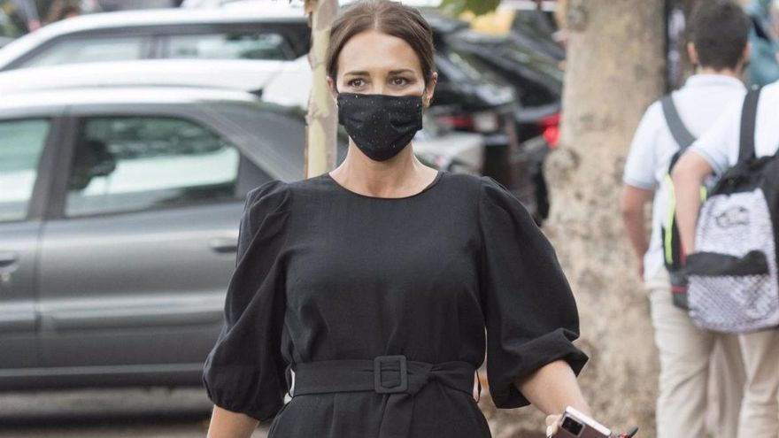 Paula Echevarría lo vuelve a hacer: así es el vestido premamá que ha revolucionado las redes