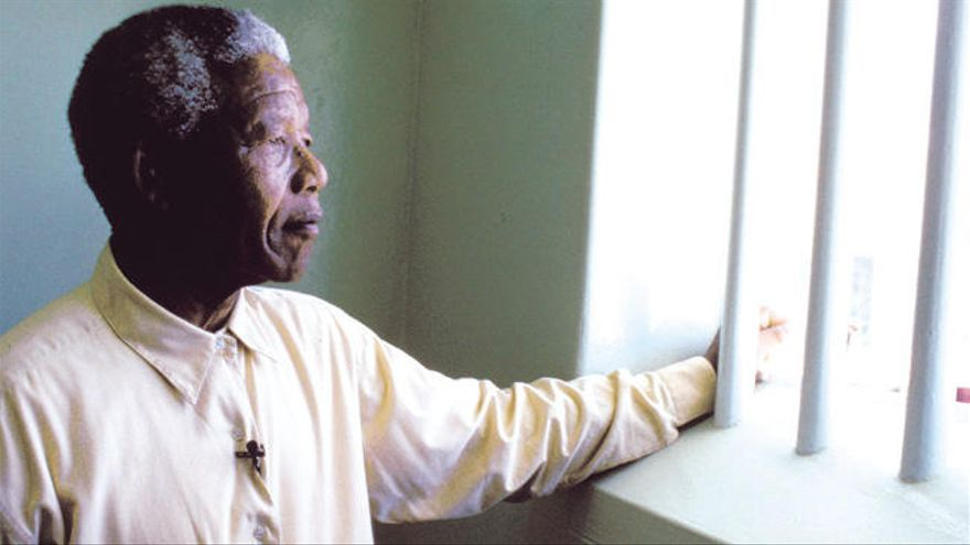 La vida de Mandela en la cárcel