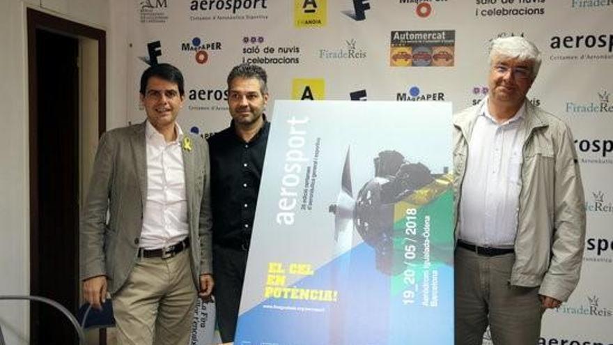 La fira Aerosport de l'aeròdrom Igualada-Òdena tindrà una participació similar a l'any passat