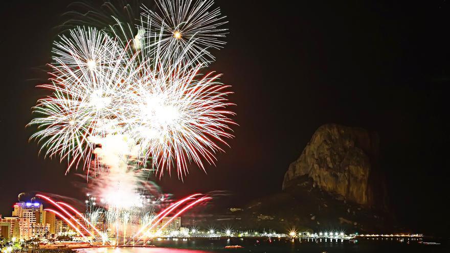 Calp celebra dos actes d'elecció de les reines de les festes de 2020 i 2021