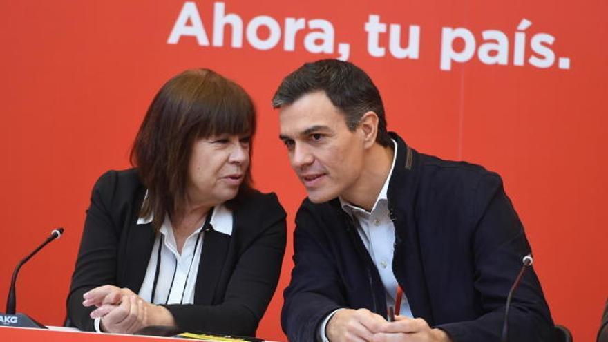 """Sánchez: """"Hagamos que el 21D el 'procés' sea un mal recuerdo"""""""