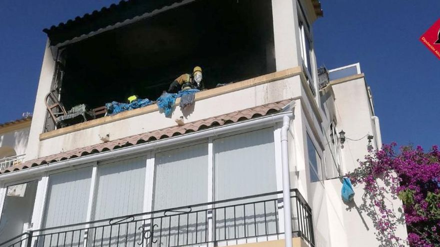 Muere una mujer de 69 años tras la explosión de su vivienda en Orihuela
