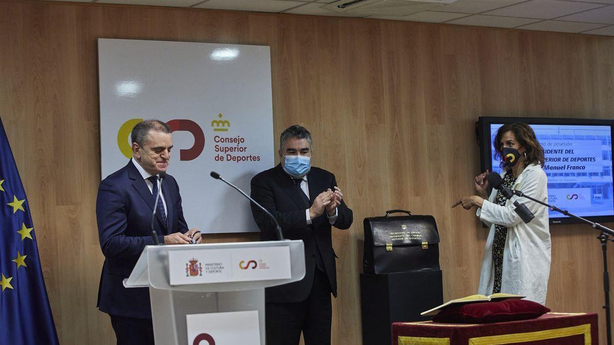 José Manuel Franco releva a Irene Lozano al frente del CSD