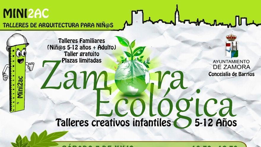 """Zamora Ecológica"": nuevos talleres infantiles en los barrios"