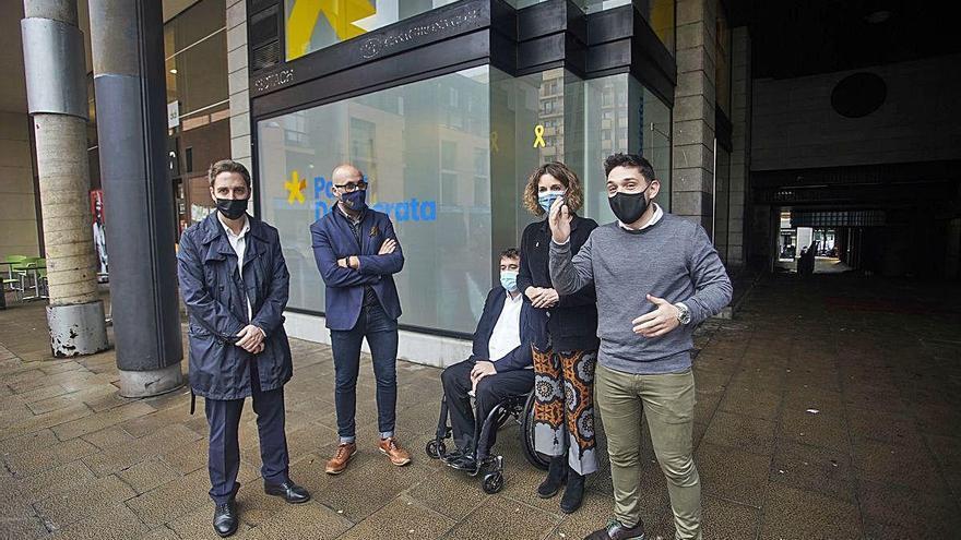 El PDeCAT reivindica una «veu pròpia» des de la nova seu a Girona